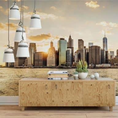 Photo Wallpaper – Sunset in Manhattan