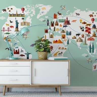 Photo Wallpaper – Travel the World
