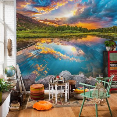 Photo Wallpaper Fleece Daybreak