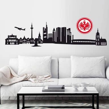 Wandtattoo Eintracht Braunschweig Logo einfarbig Wandbild Wandsticker Fußball