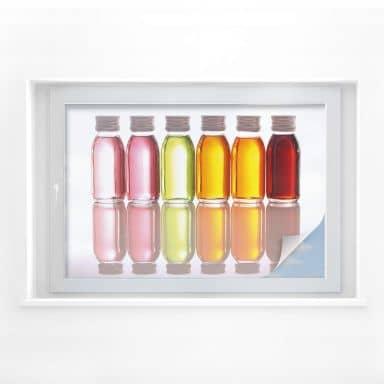 Sichtschutzfolie Oil Bottles