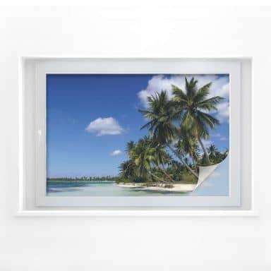 Sichtschutzfolie Caribbean Flair