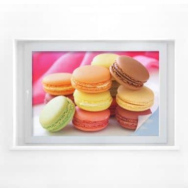 Sichtschutzfolie Sweet Macarons