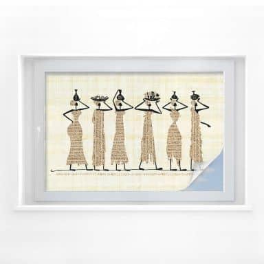 Sichtschutzfolie Ägyptische Frauen
