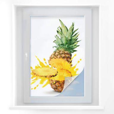 Sichtschutzfolie Splashing Pineapple