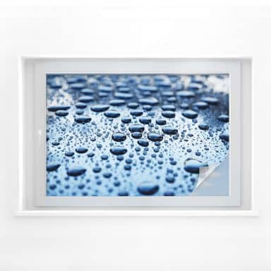 Sichtschutzfolie Waterdrops