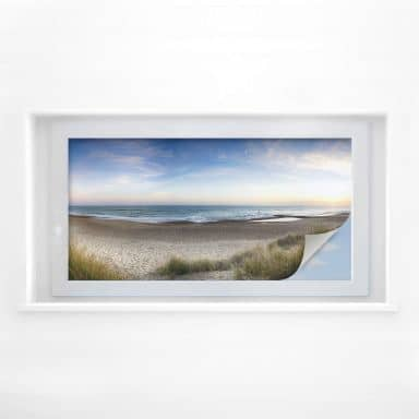 Window foil Beach panorama