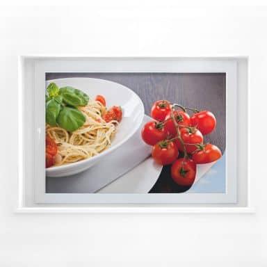 Window foil Pasta Italiano