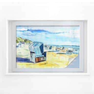 Window foil Bleichner – Beach