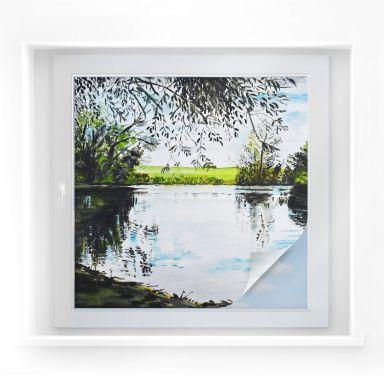 Window foil Toetzke – Green pond