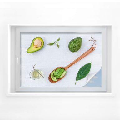 Sichtschutzfolie Frische Avocado