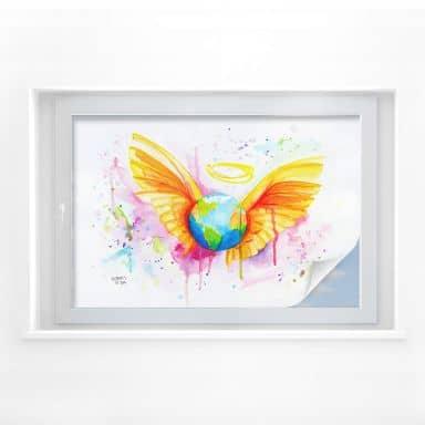 Window foil Buttafly – Angel