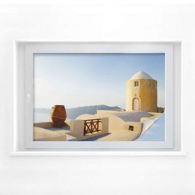 Sichtschutzfolie Mediterrane Aussicht