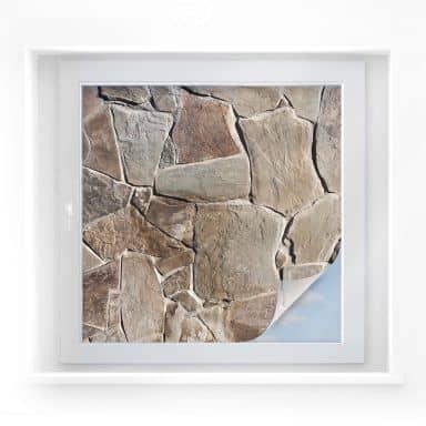 Window foil Mediterranean Wall