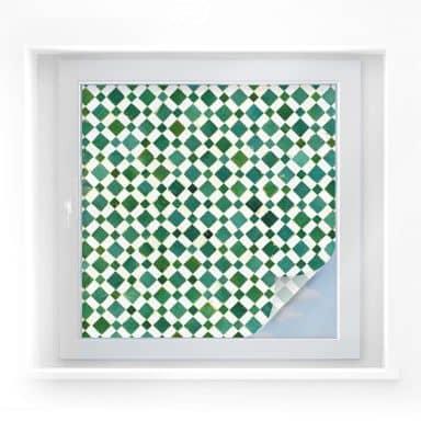 Sichtschutzfolie Mosaik 02 - quadratisch