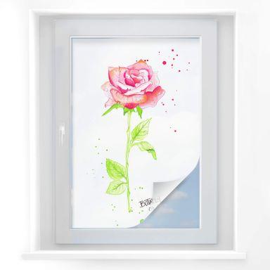 Sichtschutzfolie Buttafly - Rose