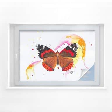 Sichtschutzfolie Buttafly - Vanessa Athalanta