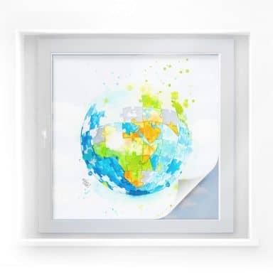 Sichtschutzfolie Buttafly - Worldpuzzle