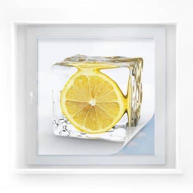 Film occultant - Citron glaçon - carré