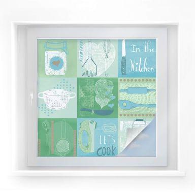 Window foil Loske – In the Kitchen