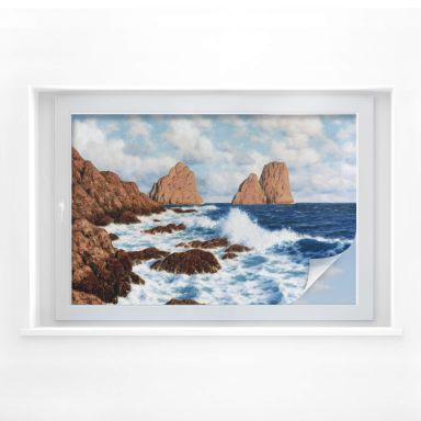 Sichtschutzfolie Choultsé - Die Felsen bei Capri