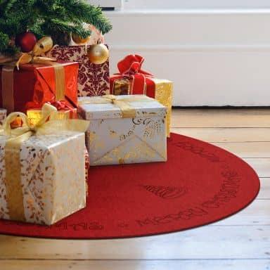 Weihnachtsbaumdecke - Rund