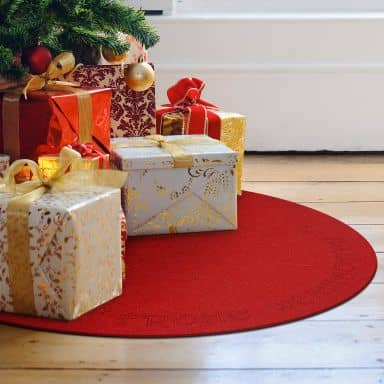 Weihnachtsbaumdecke - Frohe Weihnachten