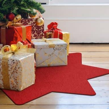 Weihnachtsbaumdecke - Stern