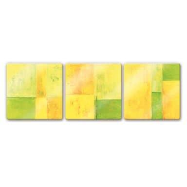 Glasbild Schüßler - Spring Composition (3-teilig)