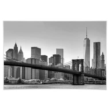 Giant Art® XXL-Poster New York - 175x115 cm