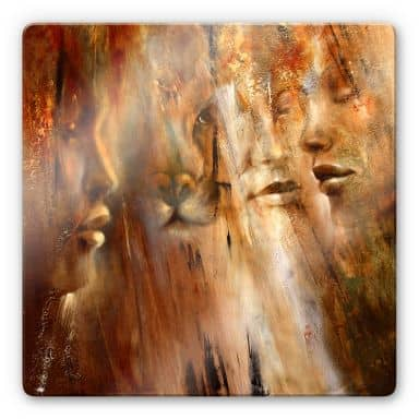 Glasbild - Schmucker - Faces