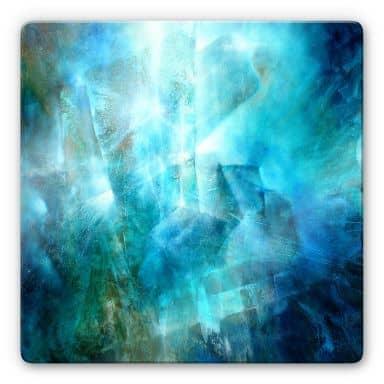 Glasbild Schmucker - Smaragd