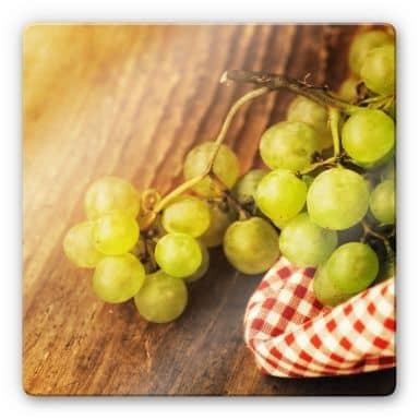 Sweet Grapes Glass art