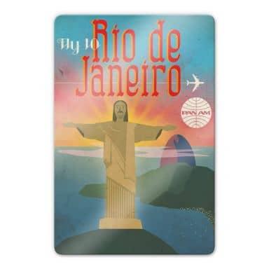 Glasbild PAN AM - Fly to Rio de Janeiro
