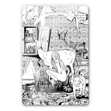Glass Print Drawstore - Livingroom