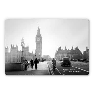 Glasbild Big Ben in London