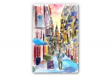 Glasbild Bleichner - Fascinating Palermo