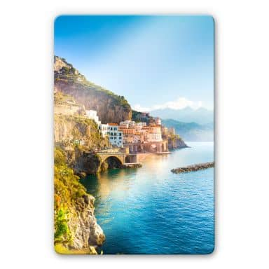 Glass Print Campania in Italy