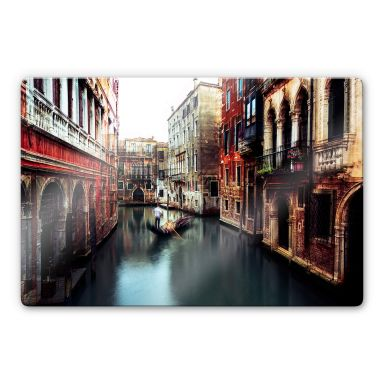 Glasbild  Chiriaco - The Gondolier