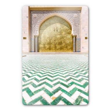 Glasbild Colombo - Alawi Moschee im Oman