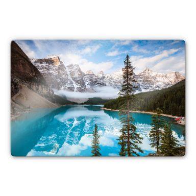 Glass Print Colombo - Banff National Park