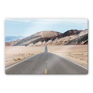 Glasbild Colombo - Death Valley