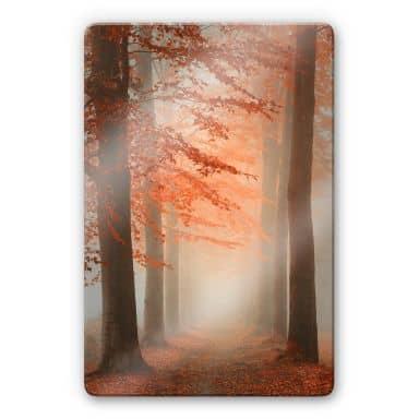Glasbild Dingemans - Herbstträume