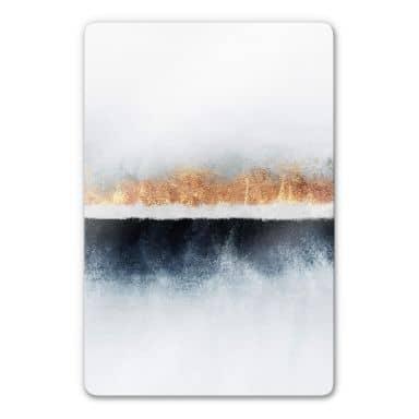 Glasbild  Fredriksson - Horizont