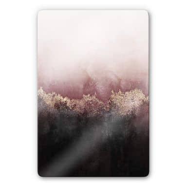 Glass Print Fredriksson - Pink Sky