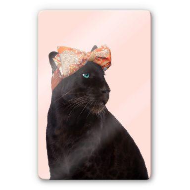 Glasbild Fuentes - Fashion Panther