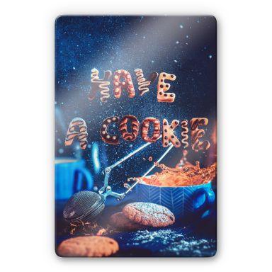 Glasbild Belenko - Have a cookie