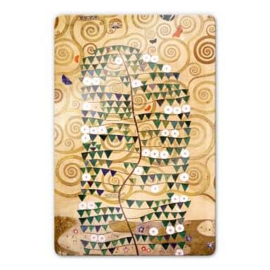 Glasbild Klimt - Entwurf für den Stocletfries