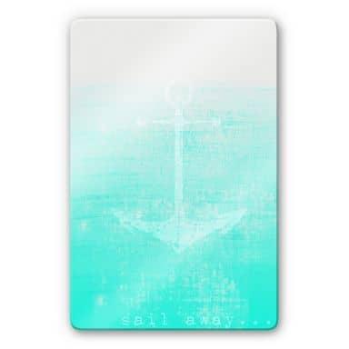 Stampa su vetro - Sail away
