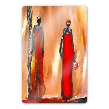 Glasbild Niksic - Art of Africa